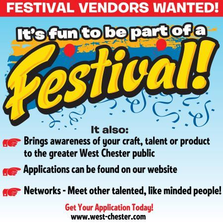 Festival Vendors Wanted Flyer