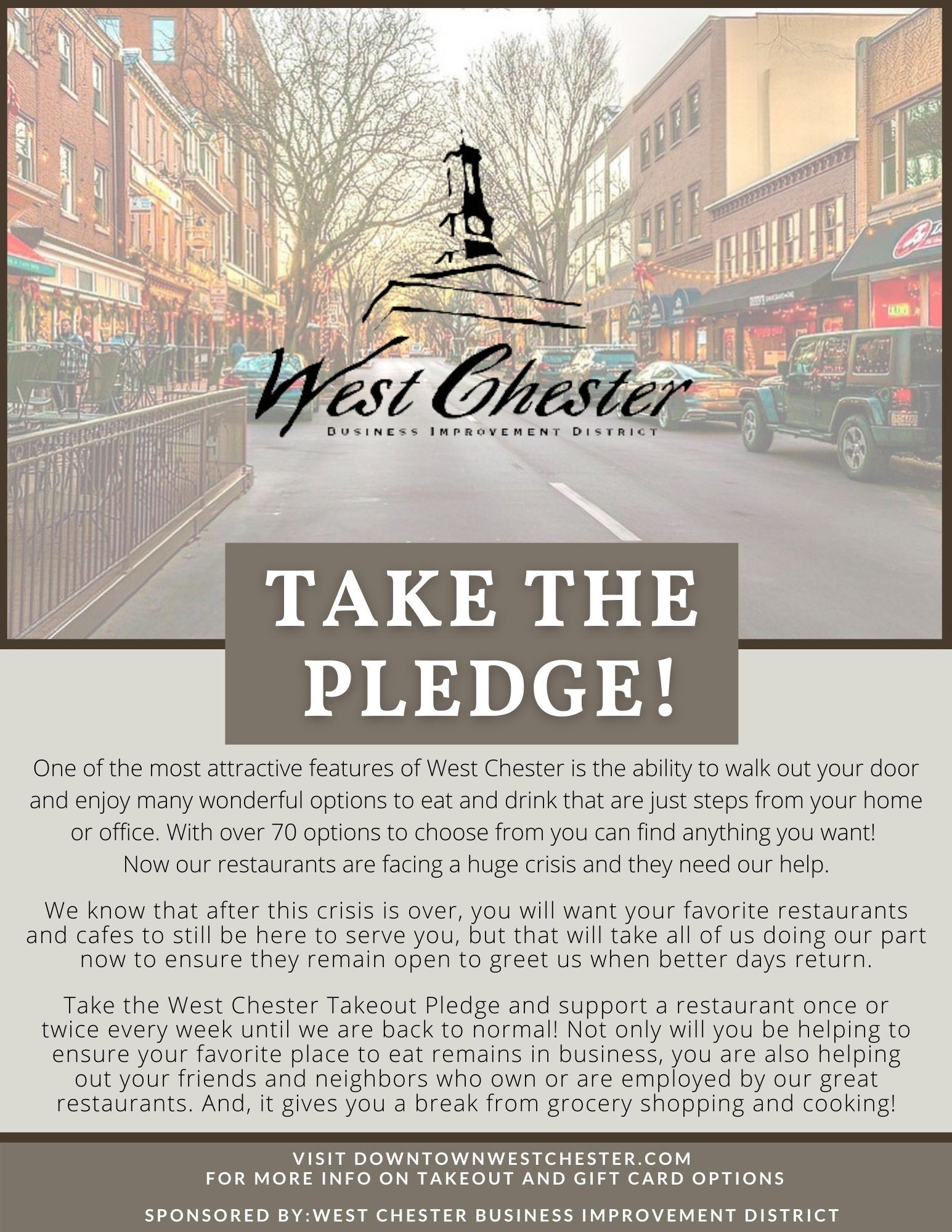 Takeout Pledge Image